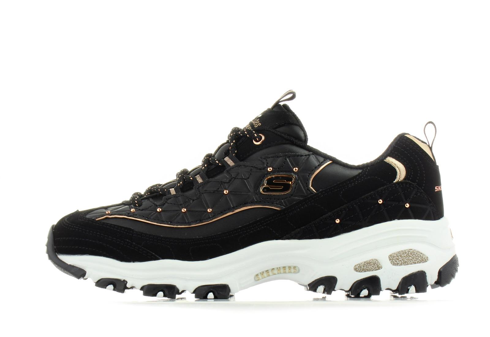 334e4c8c4c39 Skechers Cipő - D Lites - Glamour Feels - 13087-bkrg - Office Shoes ...