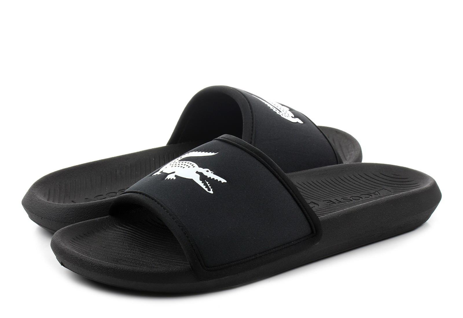 Lacoste Papuče Croco Slide