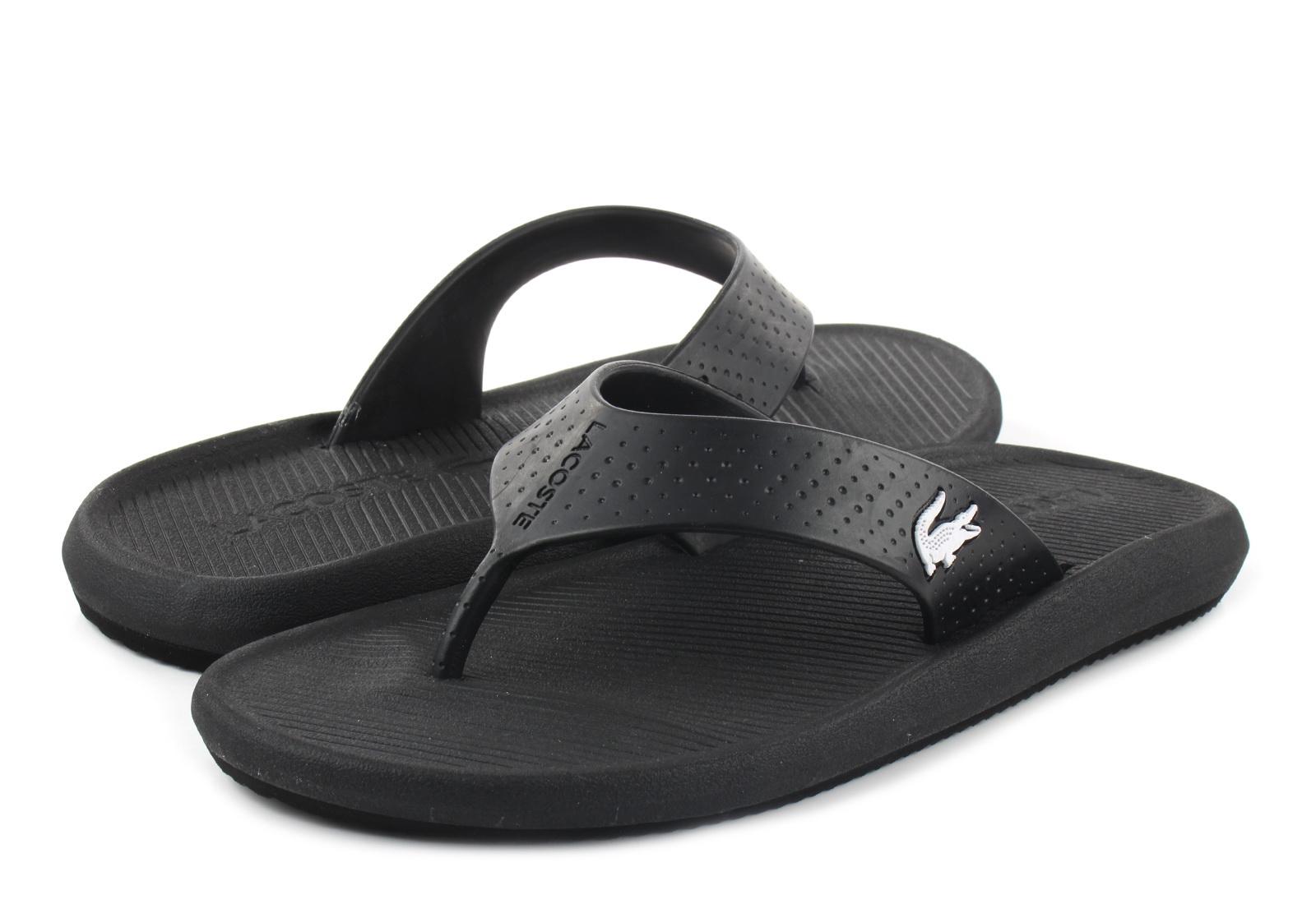 Lacoste Papuče Croco Sandal