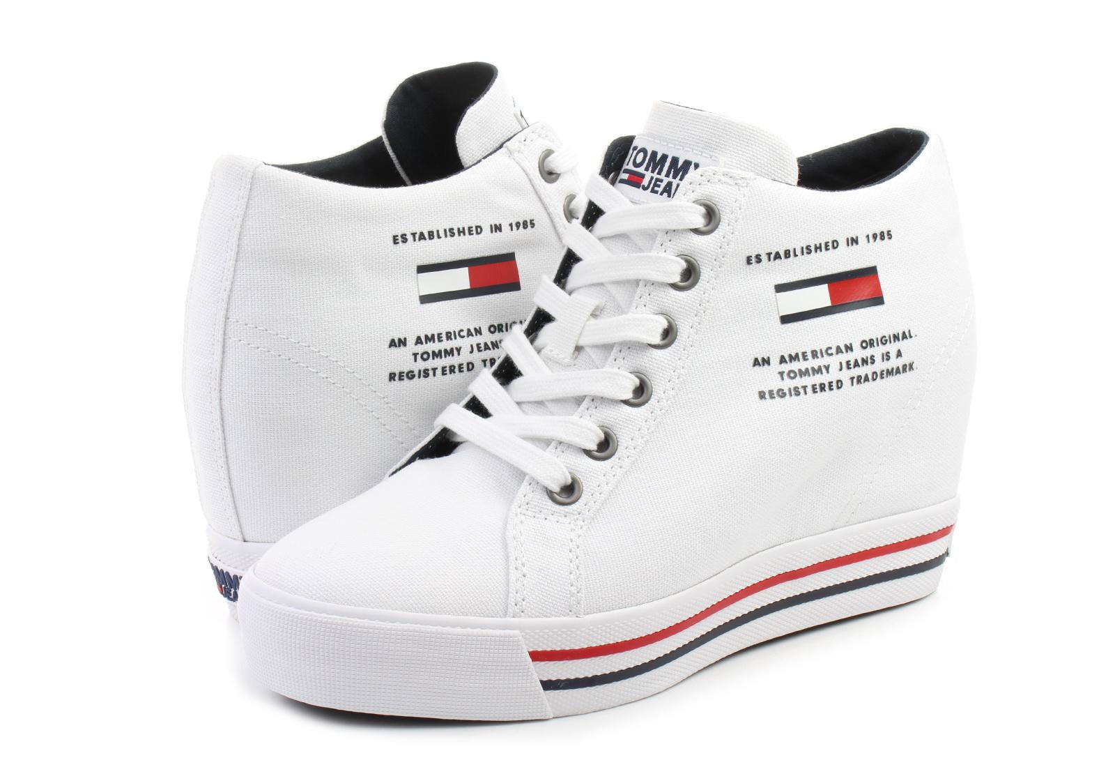 Tommy Hilfiger Pantofi Nice Wedge 1d
