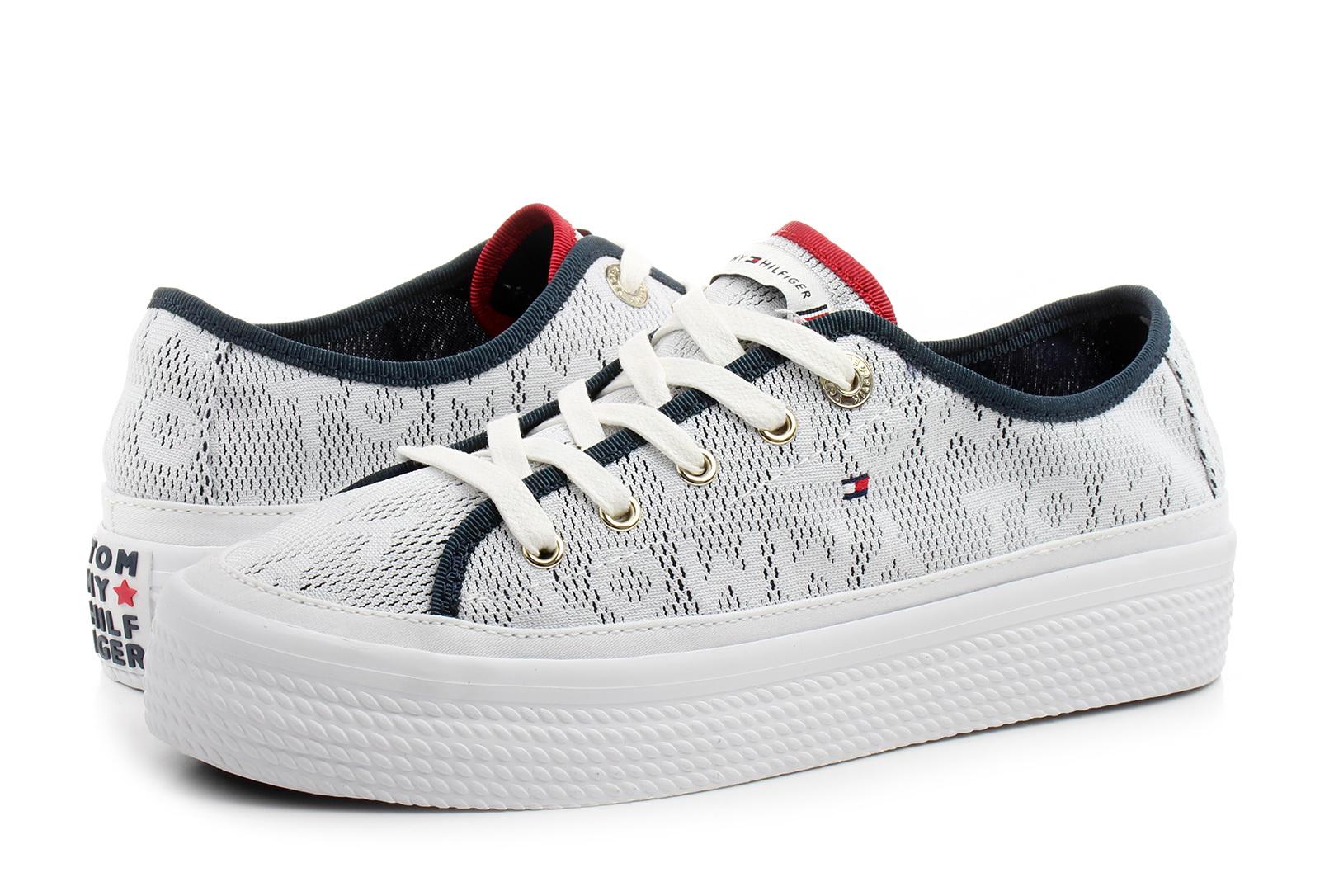 9e715ded5d Tommy Hilfiger Cipő - Kelsey 1d3 - 19S-4071-100 - Office Shoes ...