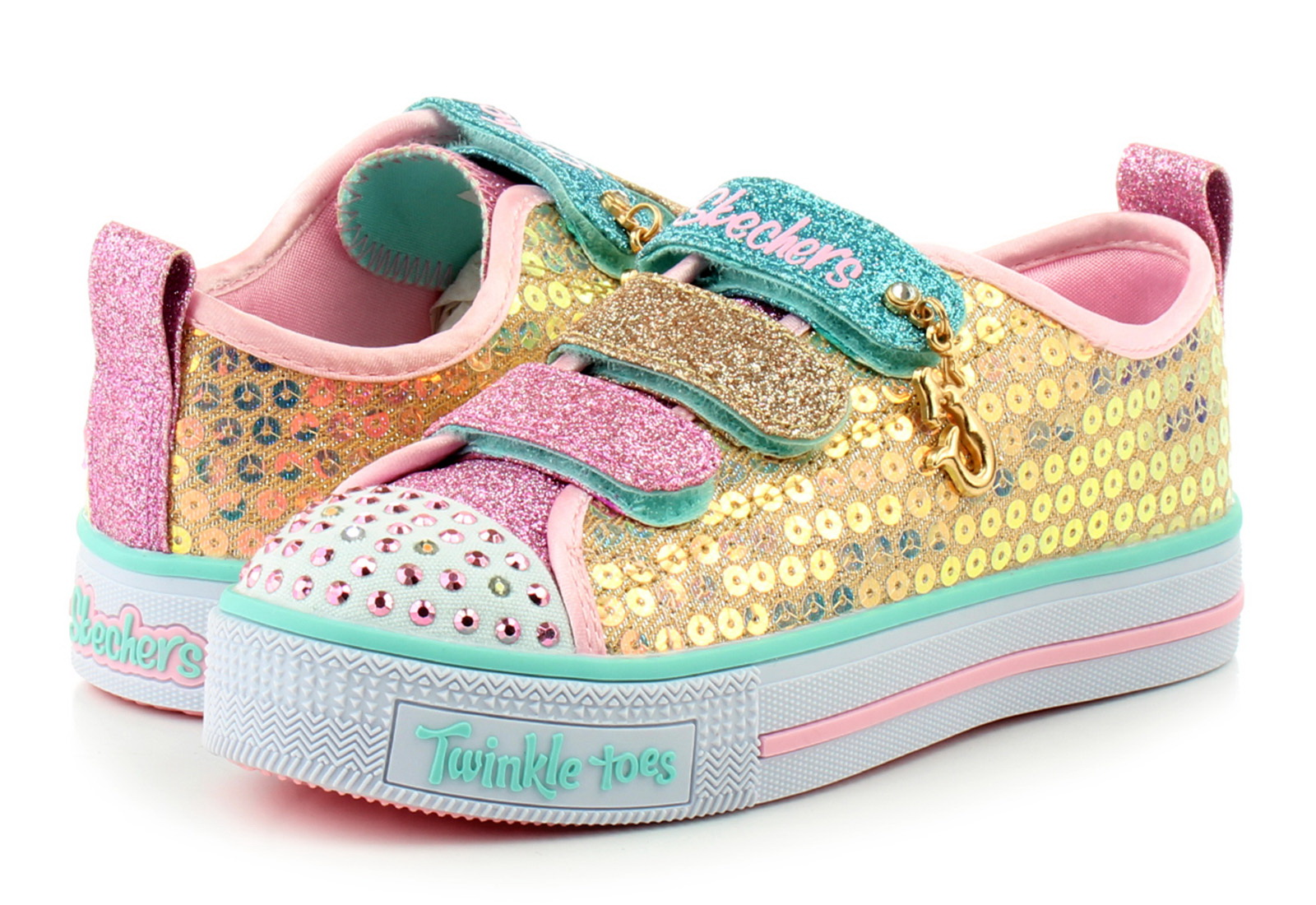 Skechers Nízké Boty Twinkle Lite - Mermaid Magic