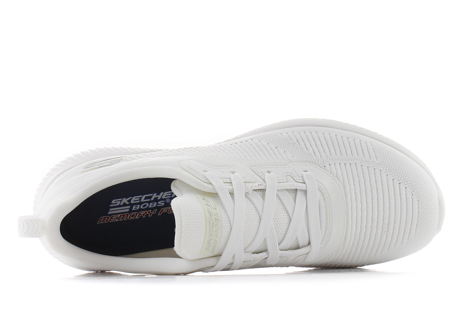 Skechers Cipő - Bobs Squad - Tough Talk - 32504-wht - Office Shoes ... d818fabe6f