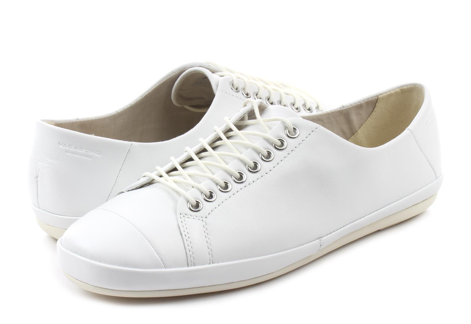 Białe skórzane buty Rose Premium