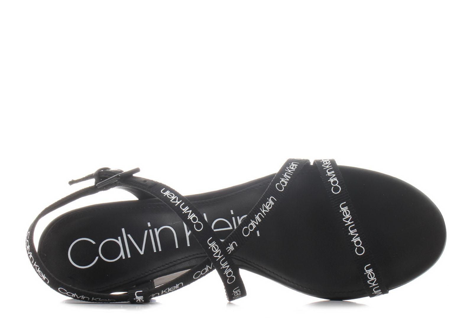 16d193a7ec Calvin Klein Jeans Sandále - Bellemine - E1932-blk - Tenisky ...