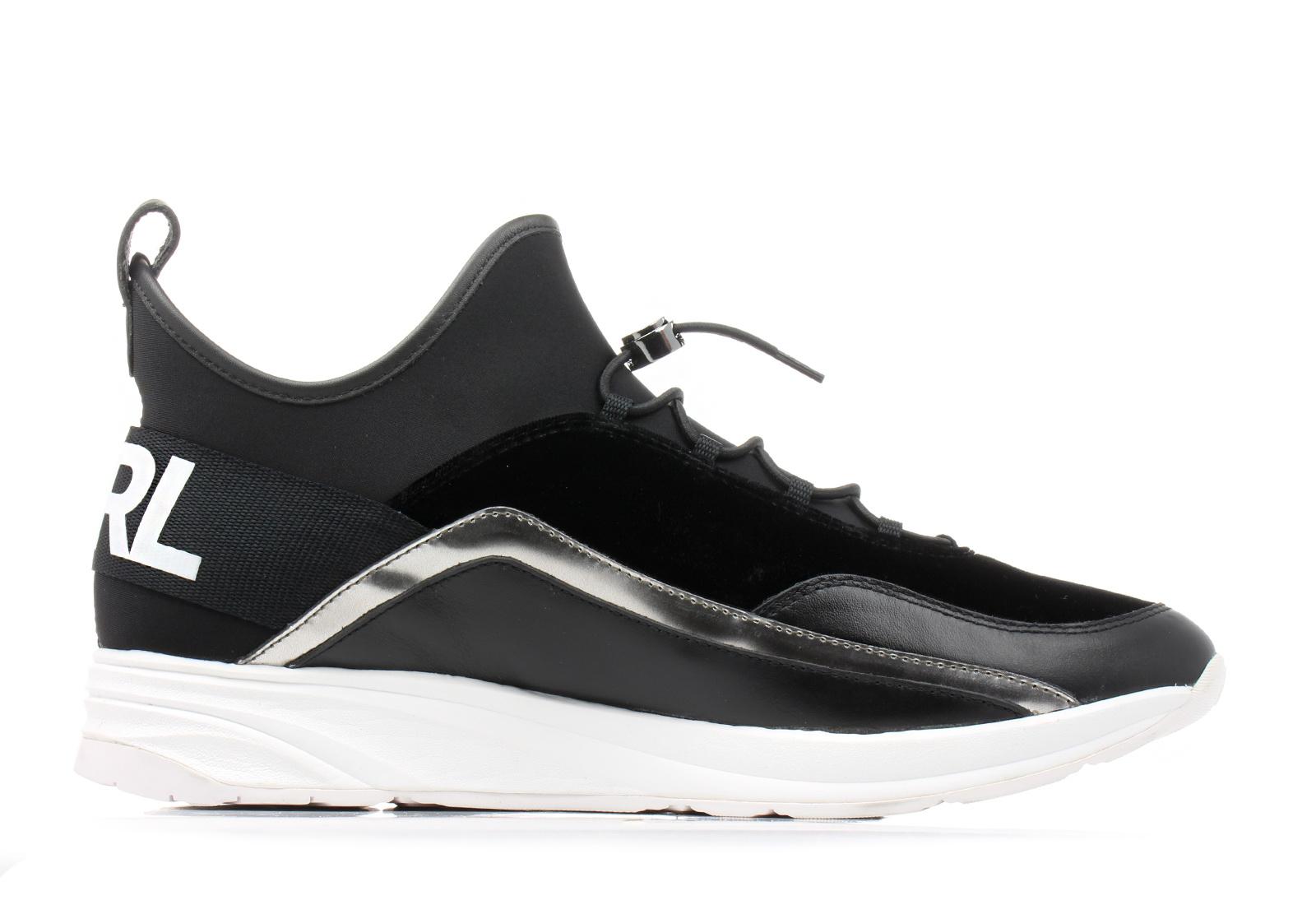 70d018524f42 Karl Lagerfeld Cipő - Vektor Sock Runner - KL51125-400 - Office ...