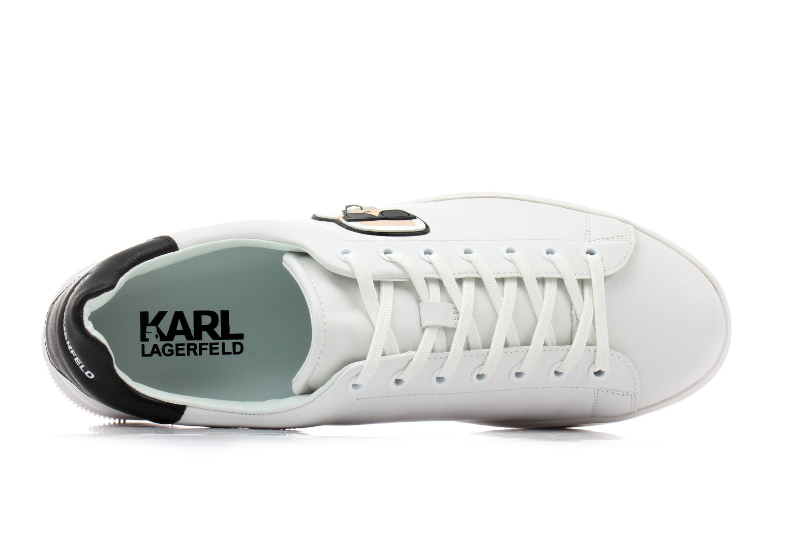 729a2d9a26 Karl Lagerfeld Cipő - Kourt Karl Ikonik - KL51210-011 - Office Shoes ...