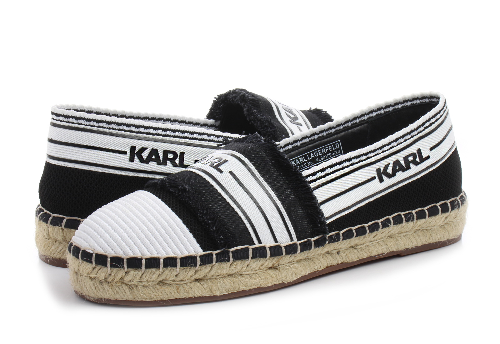 d077035f43 Karl Lagerfeld Cipő - Kamini Patchwork - KL80109-KX0 - Office Shoes ...