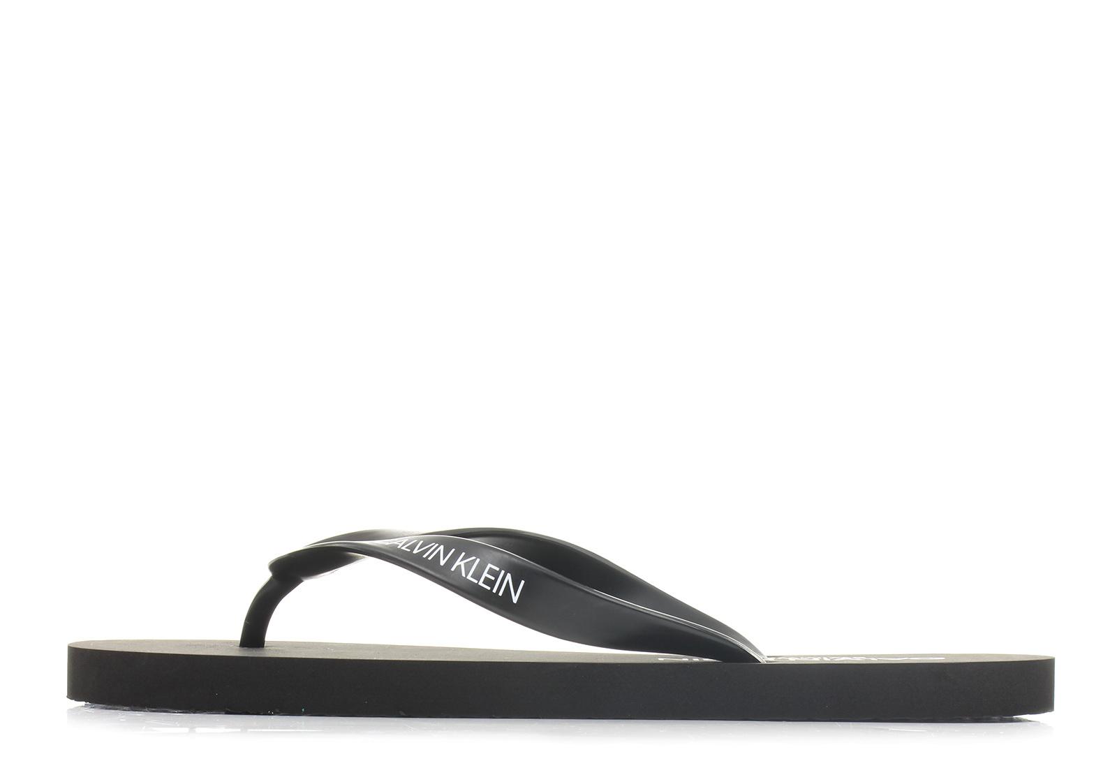 36514aef8a Calvin Klein Swimwear Papucs - Core Lifestyle Sandal - KM00341-001 ...