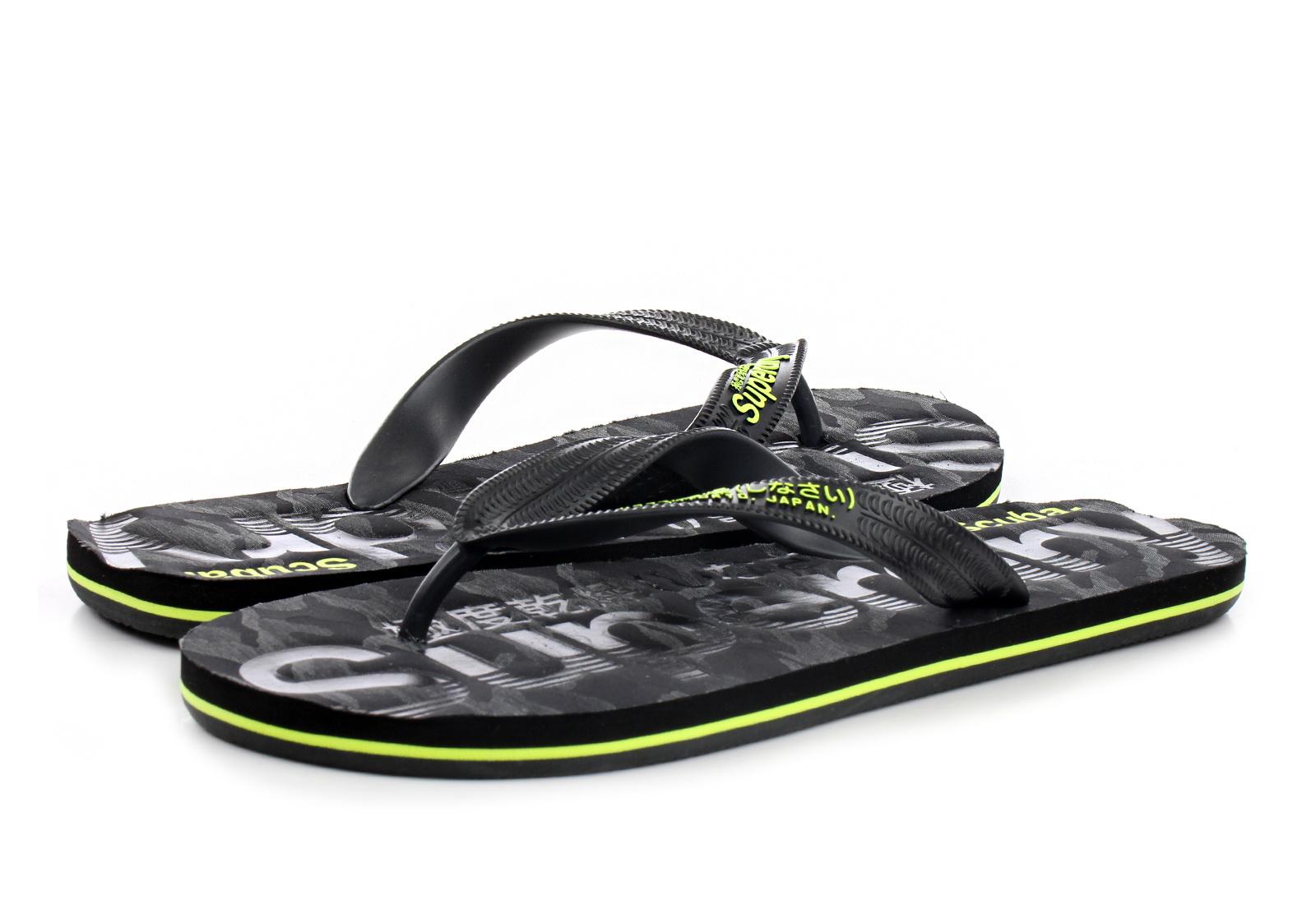 Superdry Pantofle Scuba Grit Flip Flop