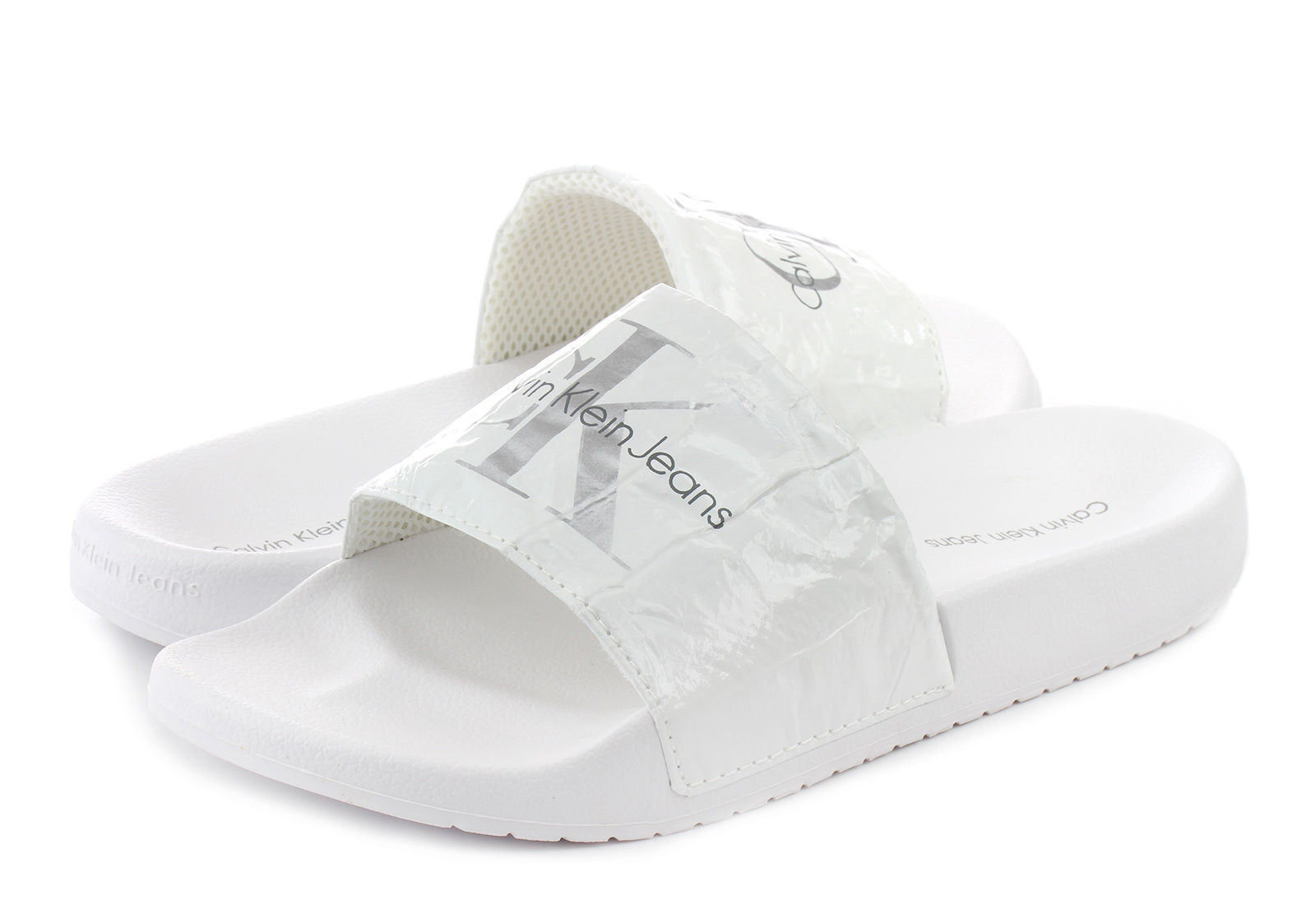 Calvin Klein Jeans Papucs - Chantal - RE9855-wht - Office Shoes ... 2dda0b658d