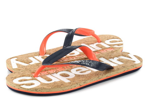Superdry Slippers Glitter Cork Flip Flop