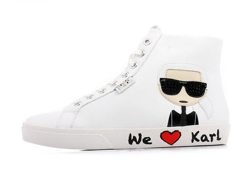 Karl Lagerfeld Cipele Skool Karl Ikonic Hi Lace