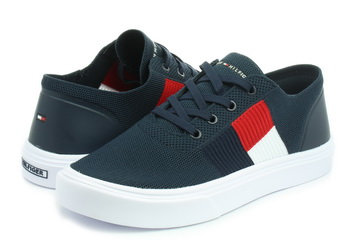 95a7b348ed Tommy Hilfiger Cipő - Malcolm 15d Knit - 19R-2545-CKI - Office Shoes ...