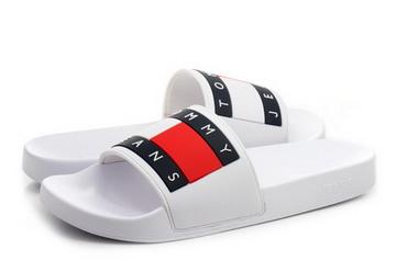77a3dd22d5fe Tommy Hilfiger Papucs - Aqua 4 - 19S-0284-100 - Office Shoes ...