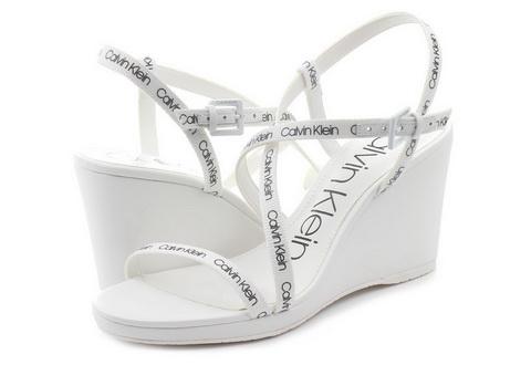 7d191328bb Calvin Klein Jeans Sandále - Bellemine - E1932-wht - Tenisky ...