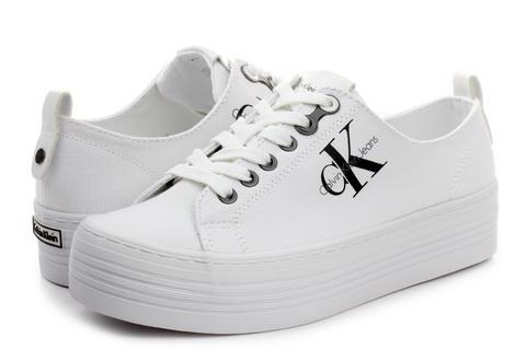 3158d416f1 Calvin Klein Jeans Cipő - Zolah - R0673-wht - Office Shoes Magyarország