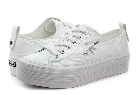89045fb708 Calvin Klein Jeans Cipő - Zolah - RE9848-wht - Office Shoes Magyarország