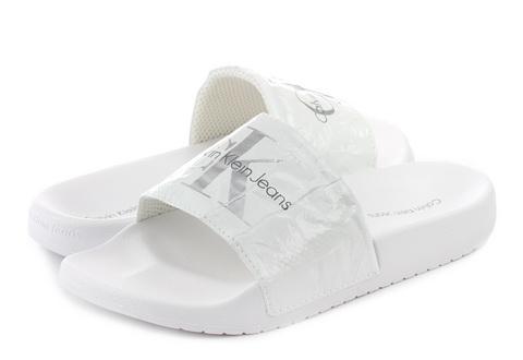 aab6da52b7 Calvin Klein Jeans Papucs - Chantal - RE9855-wht - Office Shoes ...