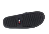 Tommy Hilfiger Papucs Hilfiger Corporate Sandal Black 1
