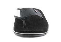 Tommy Hilfiger Papucs Hilfiger Corporate Sandal Black 6