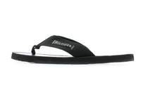 Tommy Hilfiger Papucs Elevated Leather Beach Sandal Black 3