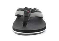 Tommy Hilfiger Papucs Embossed Th Beach Sandal Black 6