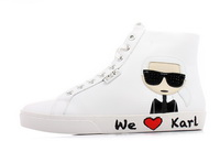 Karl Lagerfeld Cipő Skool Karl Ikonic Hi Lace 3