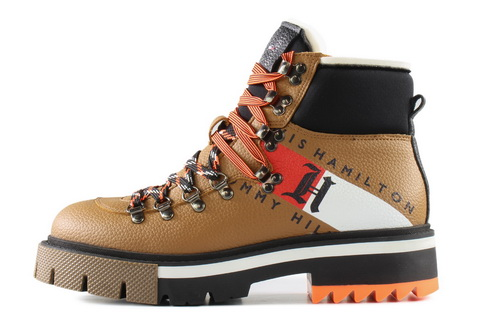 Tommy Hilfiger Topánky Lh Chunky Boot 1a