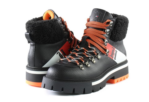 Tommy Hilfiger Boty Lh Chunky Boot 2a
