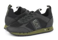 Ea7 Emporio Armani Nízké Boty Black&white Sneaker