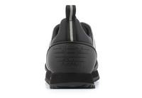 Ea7 Emporio Armani Nízké Boty Black & White Sneaker 4