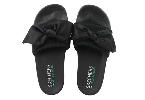 Skechers Klapki I Japonki Pop Ups - Lovely Bow
