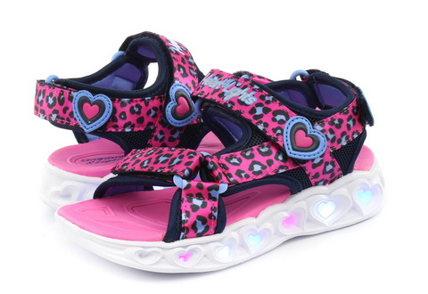Skechers Sandały Heart Lights Sandal - Savy Cat