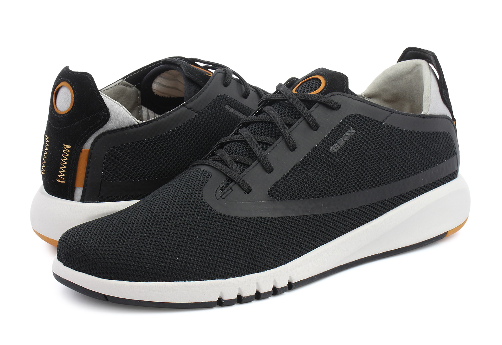 Defectuoso espiral Disfraz  Geox Niske Cipele Crne Cipele - U Aerantis - Office Shoes - Online trgovina  obuće