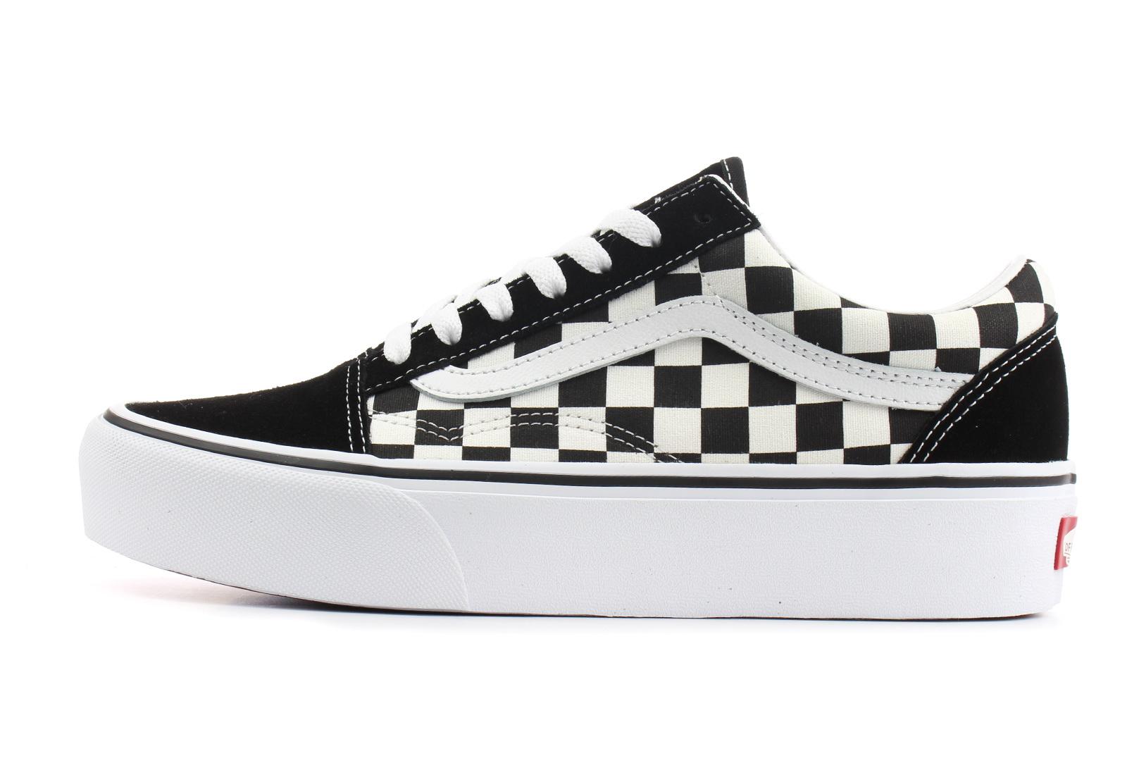 Buty damskie sneakersy Vans Old Skool Platform VA3B3UHRK