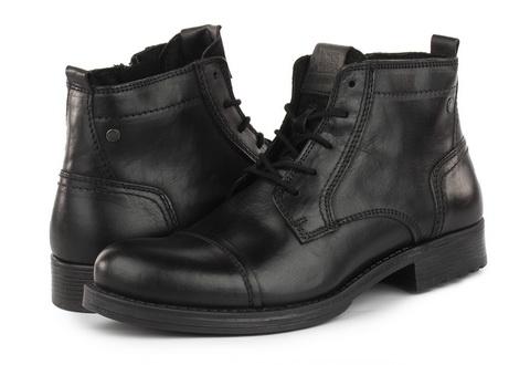 Jack And Jones Vysoké Boty Jfwrussel Mid Leather