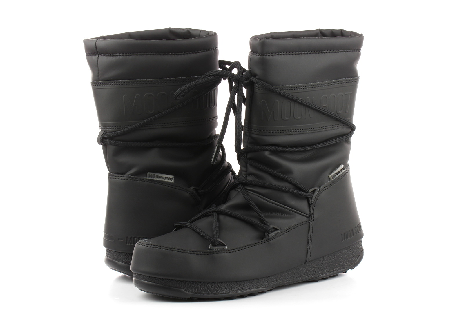 Moon Boot Wysokie Buty Moon Boot Mid Rubber Wp