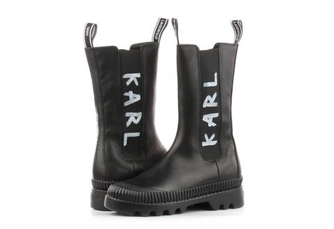 Karl Lagerfeld Čizme Trekka Ii Midi Boot