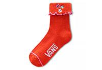 Needlepoint Ruffle Sock