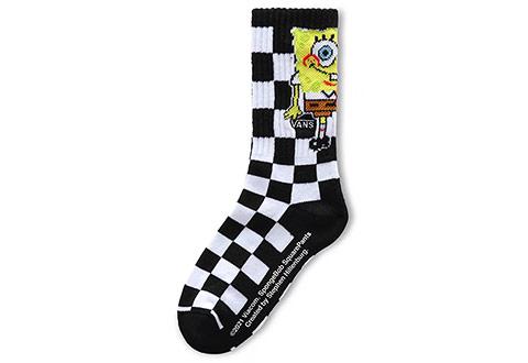 Vans Čarape Vans X Spongebob Crew Yth