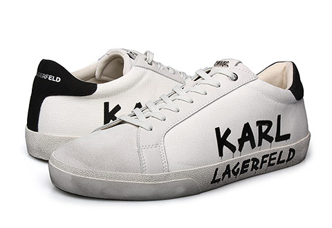 Karl Lagerfeld Patike SKOOL Brush Logo Lo Drill