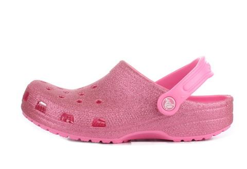 Crocs Sandały Classic Glitter Clog K
