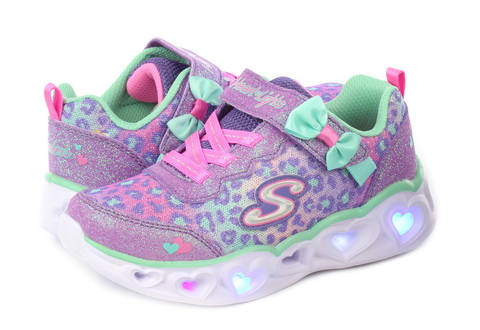 Skechers Nízké Boty Heart Lights - Untamed Hearts