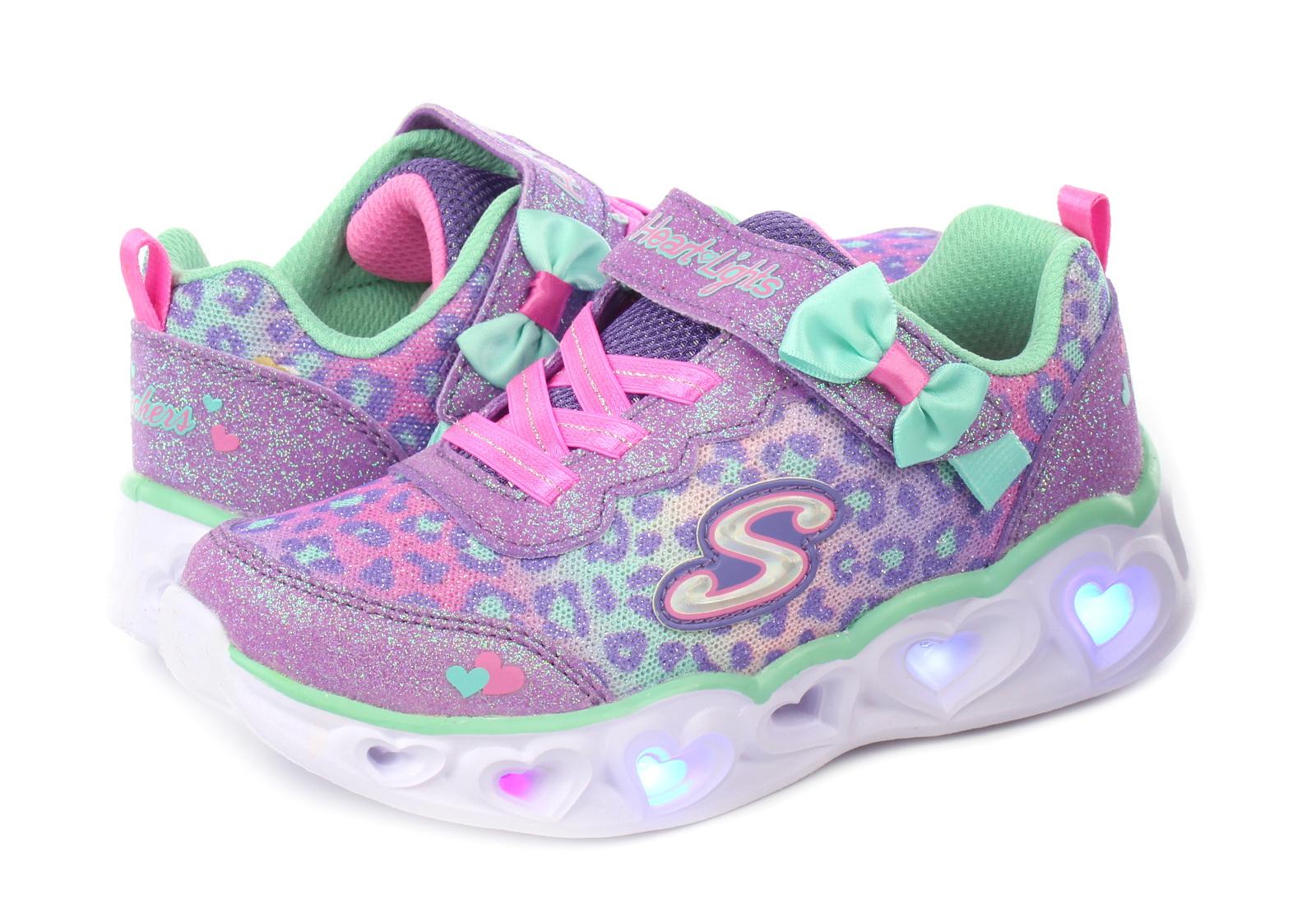 Skechers Pantofi Heart Lights - Untamed Hearts