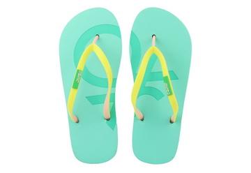Benetton Slapi Malibu Label