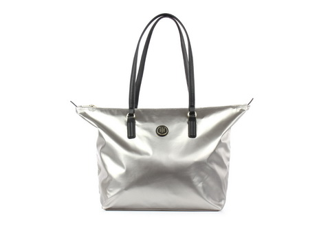 Tommy Hilfiger Kabelky Poppy Tote Silver