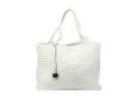 Buffalo Kabelky White Bag Knitted