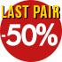 Last pair -50%
