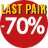 Last pair -70%